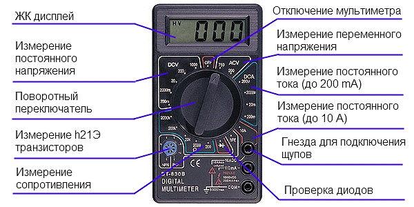Мультиметр Dt 830b Инструкция По Применению Скачать Бесплатно