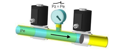 Контроль герметичности клапанов. Этап 2